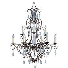 View the Maxim 12026 Tuscan Nine Light Up Lighting Two Tier Chandelier from the Hampton Collection at Build.com.