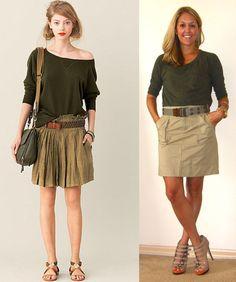 J's Everyday Fashion: Flashback Friday: Military + Safari Looks