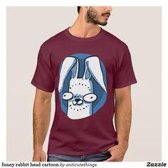 funny rabbit head cartoon #rabbit #cartoon #drawing #ears #humor #comics