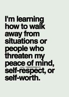 I'm learning...