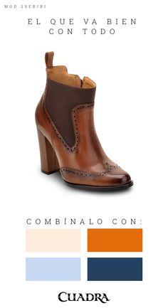 7ffdb1e03 Un moderno diseño con estilo clásico. #boots#leather#botines#dama ...