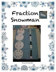 a fun fraction activity for the season