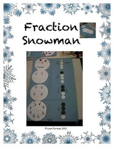 a fun fraction activity for the season