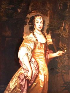 ca. 1670 Lady Jane (Anne) Powlett by circle of Sir Peter Lely