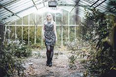 Photographer: Tom Brückner - Fotografie-Tom.de___ Model: Kate Cholamin____ #white #hair #silver #hair #alternative #dark #gothic #abandoned