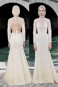Cool givenchy wedding dress 2017-2018