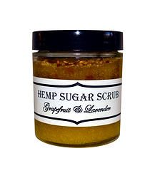 Hemp Sugar Scrub - Dry skin longs for an efficient solution, and this delightfully sweet sugar scrub works like a charm.