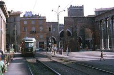 Porta Ticinese - Colonne San Lorenzo, 1970 #Milan