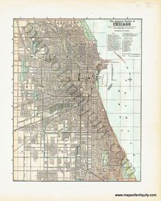 Minneapolis Map St Paul Map Twin Cities Map Vintage Decor - Vintage minneapolis map