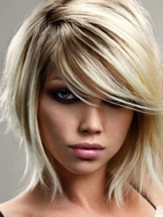 Admirable Front Bangs Hairstyles Front Bangs And Bang Hairstyles On Pinterest Hairstyle Inspiration Daily Dogsangcom