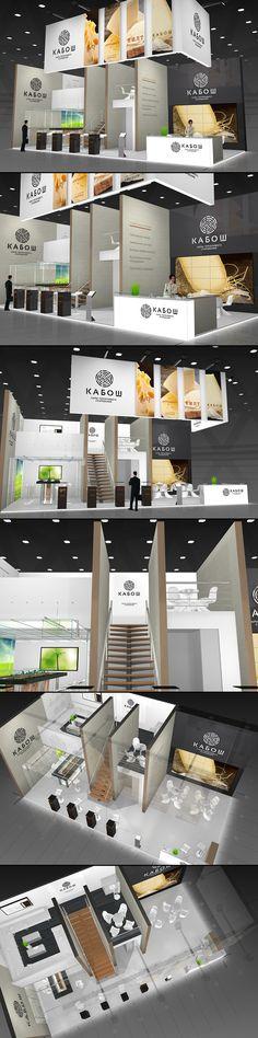 Kabosh exhibition stand on Behance