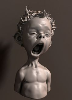 Kid Yawning