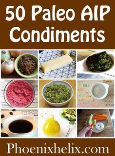 Link Love: 50 Paleo AIP Condiments | Phoenix Helix