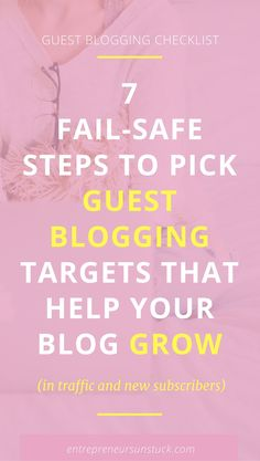 Guest blogging is a great way to streamline traffic to your blog and grow your email list. Wonder what blogs are worth to write for to meet your traffic goals? Here's help! Business Tips, Online Business, Business Writing, Content Marketing, Online Marketing, Digital Marketing, Seo Tips, Blogging For Beginners, Make Money Blogging