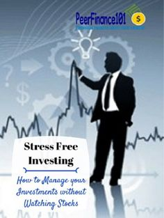 A simple plan for stress free investing without having to watch the stock market! One rule that makes stock investing easy. investing ideas, how to invest
