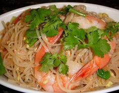 Thai Noodles with Shrimp from Food 52