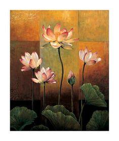 Lotus Painting, Painting Edges, Diy Painting, Buddha Painting, Mural Painting, Framed Artwork, Wall Art, Diy Wall, Paint Set
