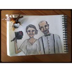 Drawing bride