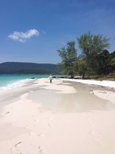 Song Saa Private Island, Sihanoukville, Cambodia - Love this glitzy white sandy beach just to us