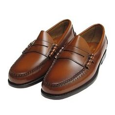 HARVARD LOAFER IN BURGUNDY WINE HI SHINE LEATHER BY JOHN SPENCER