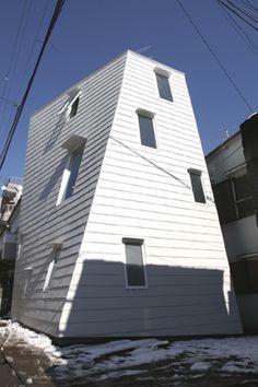 SwayHouse - Setagaya-ku, Tokyo  by Architect Atelier Bow-wow