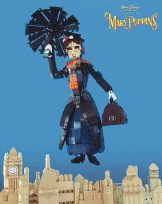Mary Poppins Chimney Sweep | Mary Poppins | Flickr - Photo Sharing! Up Pixar, Lego Math, Lego Disney, Walt Disney, Lego Pictures, Lego People, All Lego, Lego Toys, Minecraft Creations