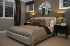 Image detail for -Benjamin Moore drapery wall/BRANDON BEIGE feature wall/STAMPEDE