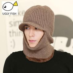 5108869c skull mask balaclava face mask winter hats for women men knitted cap neck  warmer Caps Winter Hats For Men Women Beanie Fur Warm