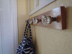 I Want To Make A Door Knob Coat Rack. I Love Old Door Knobs,