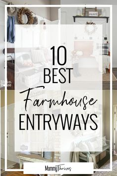 Farmhouse Entryway Ideas - Rustic Entryway Decor That Is Inviting - How To Decorate A Rustic Entryway - 10 Best Farmhouse Entryways #rusticdecor #rustic #entryway #entrywaydecor #rusticentryway #rustichome #homedecor