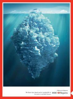 Icebergs on Behance