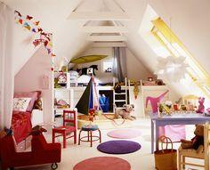 Spielplatz unterm Dach - Kinderzimmer - SCHÖNER WOHNEN