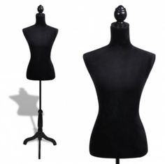 #Ladies bust #display black #female mannequin #female dress form,  View more on the LINK: http://www.zeppy.io/product/gb/2/131951268892/