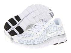 102872c0889c Nike free 5 0 v4. White Nike Tennis ShoesRunning ...
