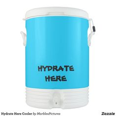 Hydrate Here Cooler