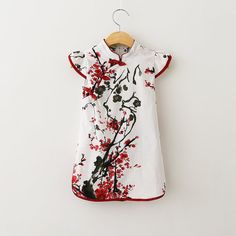 Girl Qi Po Chinese dress