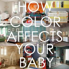 How Color Affects Your Baby - This could help you decide on nursery colors! | Project Nursery