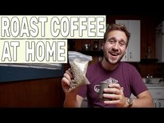 Learning how to roast coffee beans at home will give your coffee game a serious boost! We'll cover how to roast coffee beans with kitchen gear... Atlas Coffee, Coffee Farm, Coffee Type, Best Coffee, Roasting Coffee At Home, Kauai Coffee, Coffee Games, Different Types Of Coffee, Coffee Subscription