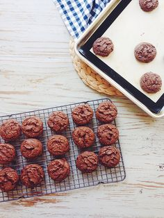 Double Chocolate Chip Cookies by joy the baker, via Flickr