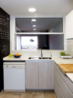 Reforma de cocina con barra americana por Accesible Reformas