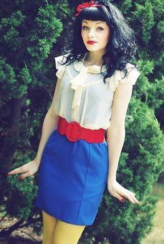 Pin-up Snow White