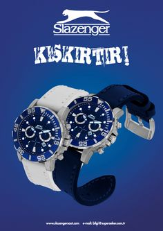 Slazenger Watches Ad.