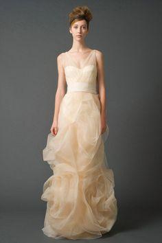 Wedding dress by Vera Wang, Gabriela Fall 2011