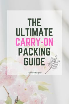 The top carry on bag essentials! A free carry on bag packing list for easier travel. The best carry on bag items for a stress free airplane ride! Source by bookletoftravel on bag packing Carry On Bag Essentials, Carry On Packing, Travel Essentials, Packing Tips, Travel Packing, Travel Tips, Travel Ideas, Best Carry On Bag, We Carry On