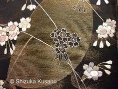Shizuka Kusano Japanese Embroidery Exhibition