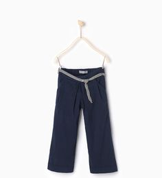 ZARA - KIDS - Cropped trousers