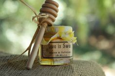 Wedding FavorsHoney from the Beehive state by partingsorrow