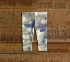 """Baby+leggings+""""Walk+in+the+Clouds""""+by+SouthernComfortArt"""