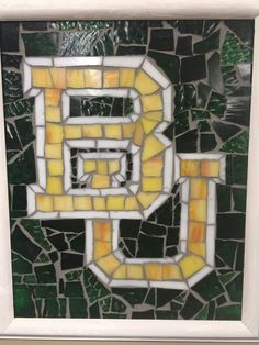 Baylor University Mosaic by piecesntime on Etsy