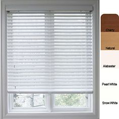 @Overstock - Dress up your home decor with beautiful blinds  Faux wood 2-inch window blinds offer all the style of wood blinds  Window treatment is crafted of a polyvinyl composite designed to withstand changes in the environmenthttp://www.overstock.com/Home-Garden/Customized-Faux-Wood-33.5-inch-Window-Blinds/4409636/product.html?CID=214117 $38.49
